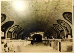 Estación Fantasma de Chamberí - Obras en las estaciones de metro