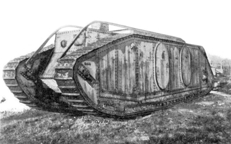 Museo de Carros de Combate - Mark IX de transporte de tropas (14)