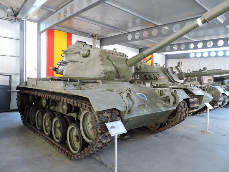 Museo de Carros de Combate - M47 Patton E1, modernizado en España