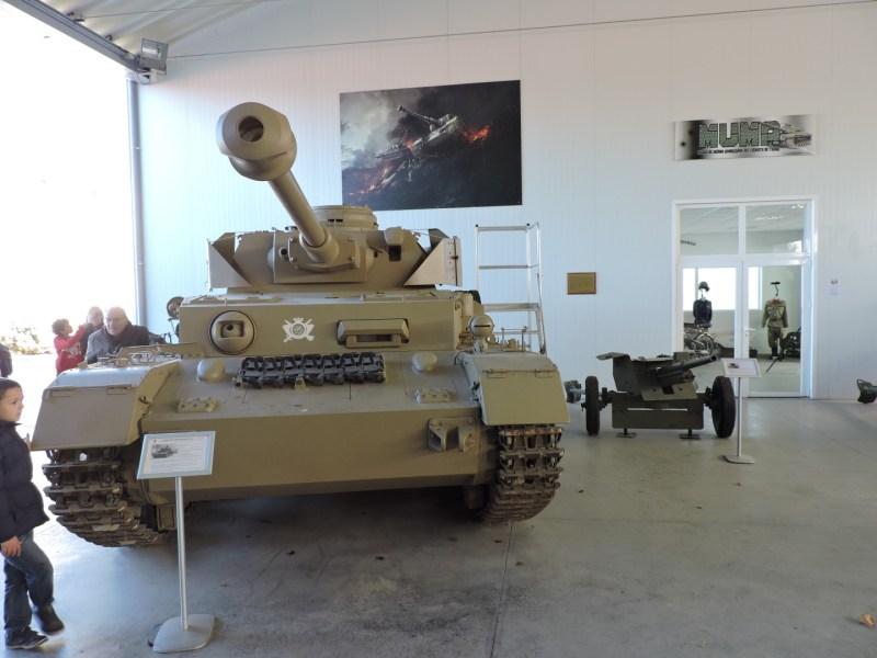 Museo de Carros de Combate - Panzer IV H