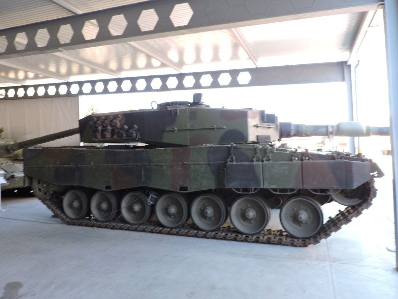 Museo de Carros de Combate - Leopard 2 A4