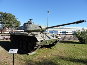 "Museo de Carros de Combate - M-41 ""Walker Bulldog"""