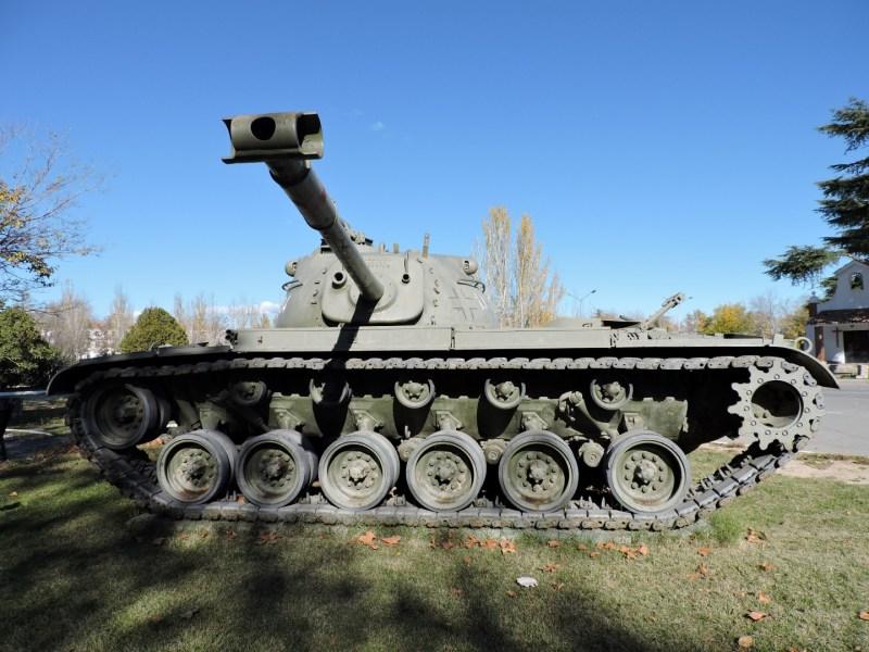 Museo de Carros de Combate - Carro M48 Patton