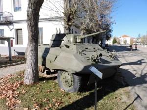 """Museo de Carros de Combate - La torreta del M-8 """"Hércules"""" dejaba a los soldados al aire"""
