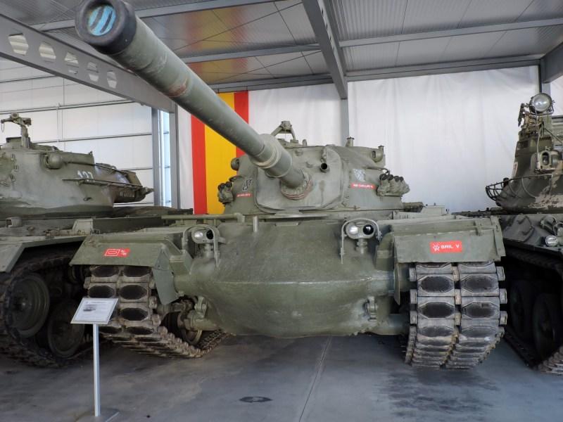 Museo de Carros de Combate - M48 Patton A5E2, modernizado en España