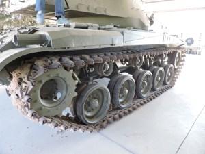 """Museo de Carros de Combate - Oruga del M-41 A1 """"Walker Bulldog"""""""
