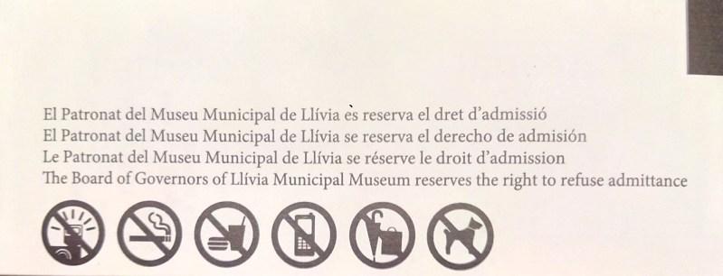 Farmacia Esteva. ¿Por qué han traducido sólo al inglés Patronat del Museu?