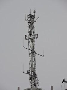 Faro de Moncloa - Torre de antenas