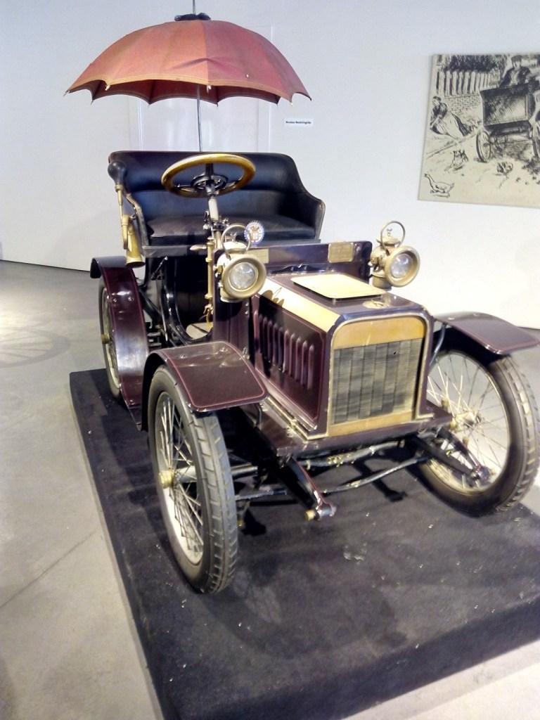 Museo Automovilístico - Minervette de la casa Minerva (Bélgica - 1904)