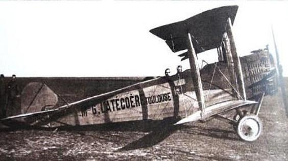 Museo de la Aviación - Salmson 2 A2 de Latecoere. Año 1918 (5)