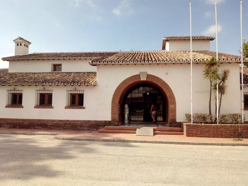 Museo de la Aviación - Edificio terminal del Aeropuerto García Morato