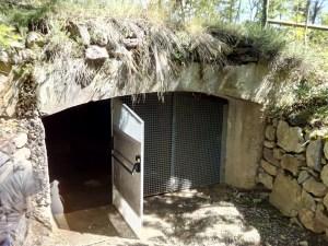Parque de los búnkeres - Acceso al búnker de artillería