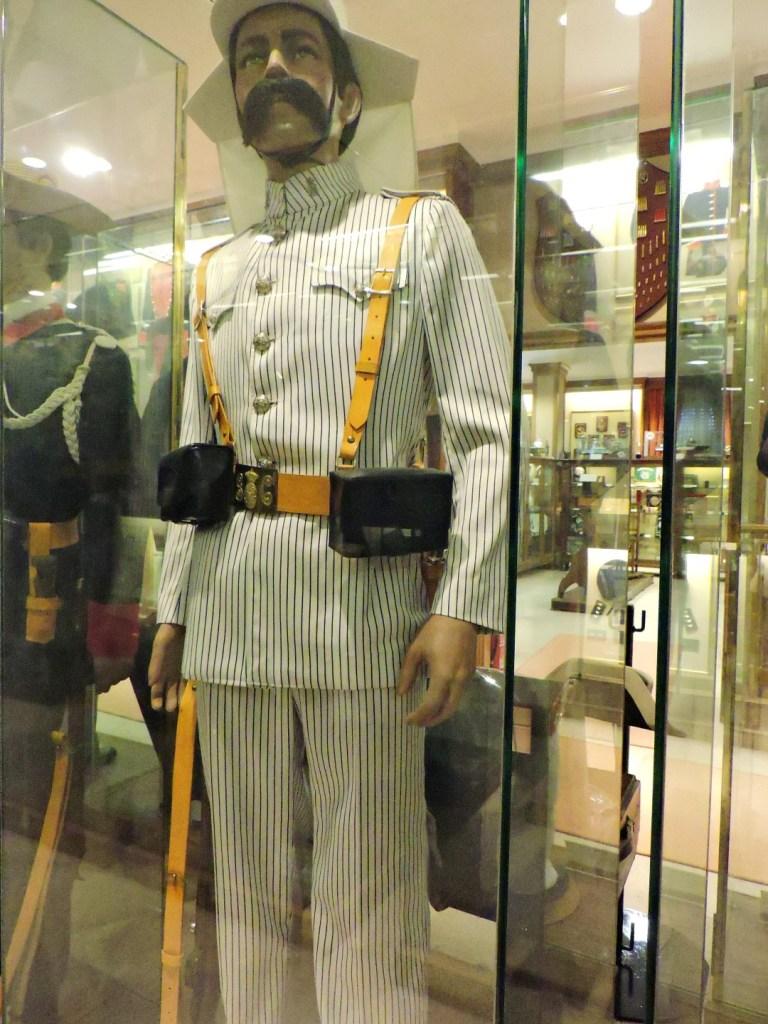 Museo de la Guardia Civil - Uniforme de la Guardia Civil en Marruecos (Imagen propiedad del Museo de la Guardia Civil)