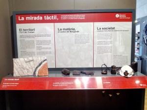Museo Minas Serchs - Mural explicativo