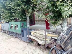 Museo Minas Serchs - Tren de transporte de material para la mina