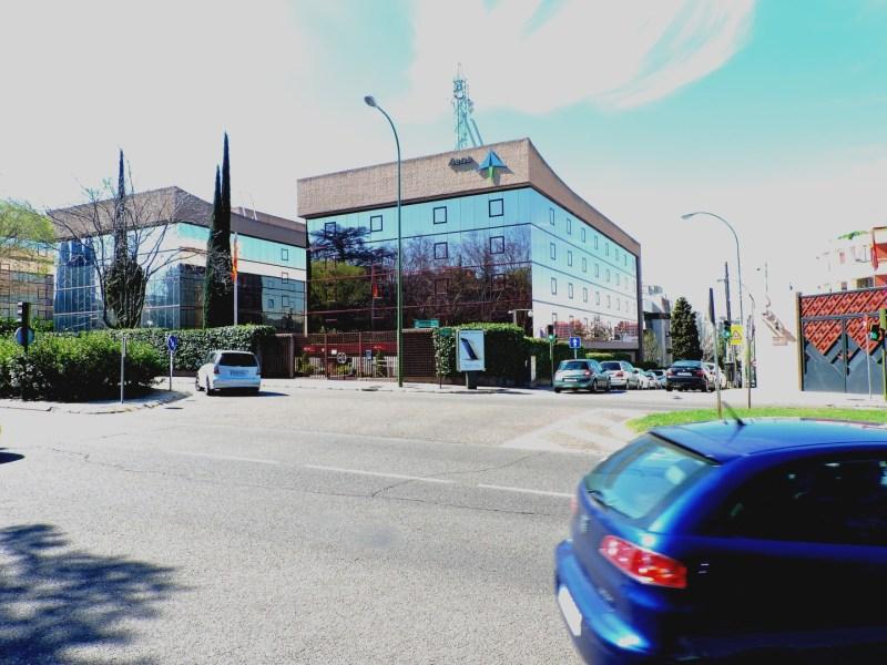 Aeropuerto Ciudad Lineal - Esquina Noreste del Aeropuerto, donde se ubica un edificio de Aena