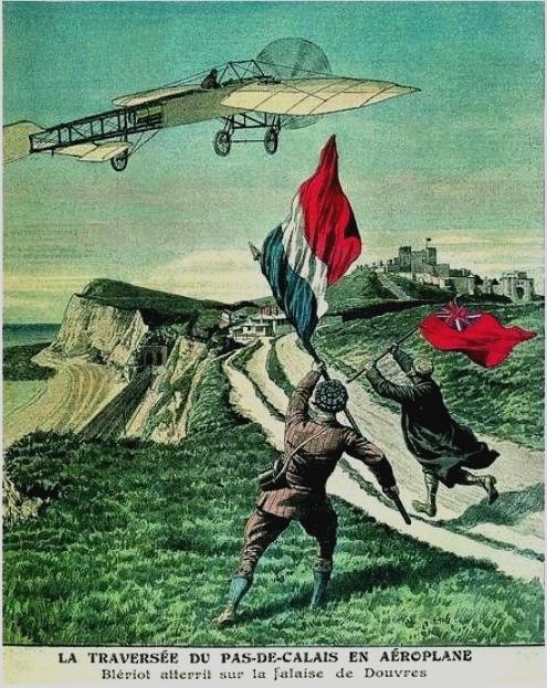 Aeropuerto Ciudad Lineal - Bleriot ganó las 1000 libras que el Daily Mail ofreció al primero en cruzar el Canal de la Mancha (3)