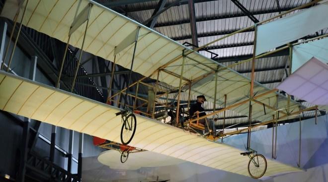 Aeropuerto Ciudad Lineal - En el Museo del Aire de Madrid se encuentra una reproducción del avión que pilotó Juan Olivert en Paterna