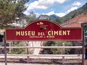Tren del Cemento - Estación del Museo del Cemento, en Castellar de Nuch