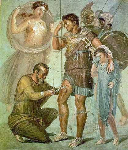Museo Farmacia Militar - Médico militar romano (6)