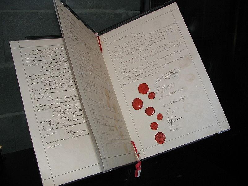 Museo Farmacia Militar - Primer Convenio de Ginebra, creado gracias a Henry Dunant (4)