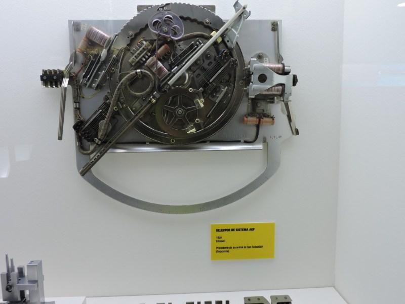 Museo de las Telecomunicaciones - Relé de una central Pentaconta