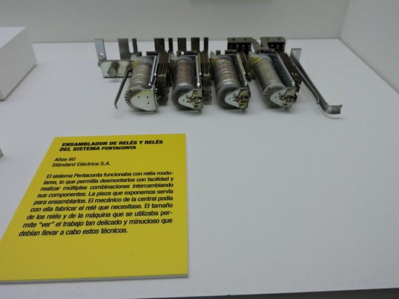 Museo de las Telecomunicaciones - Pieza de una central de Ericsson de la red de Guipúzcoa