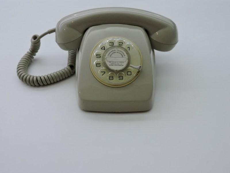 Museo de las Telecomunicaciones - Teléfono Heraldo, fabricado a partir de los 60