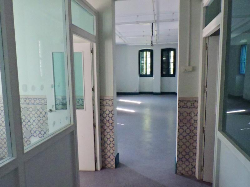 Museo de la Homeopatía - Aspecto de la restauración interior.