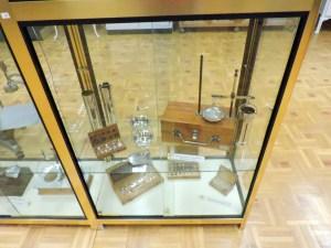 Museo Veterinaria Militar - Balanza para pesar cereales.