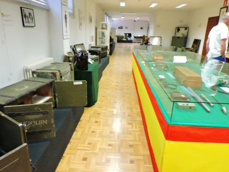 Museo Veterinaria Militar - Sala de maquetas e higiene.
