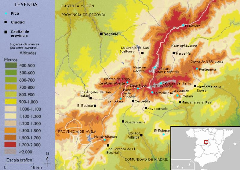 FuenteGeologos - Mapa de la Sierra de Guadarrama (7).