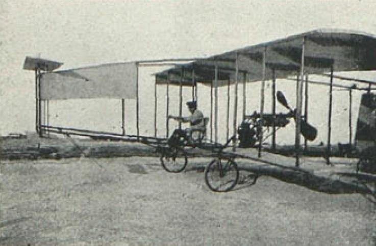 El Vuelo de Juan Olivert - Pruebas de vuelo del Brunet nº 1 (6)