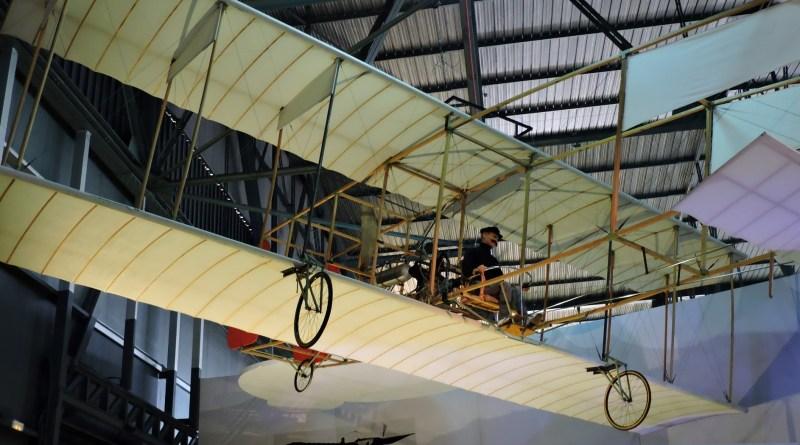 Vuelo Olivert - Réplica del avión de Juan Olivert en el Museo del Aire de Madrid.