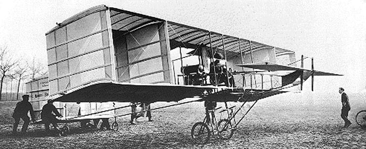 El Vuelo de Juan Olivert - Moore-Brabazon con su Voisin en 1909 (13).