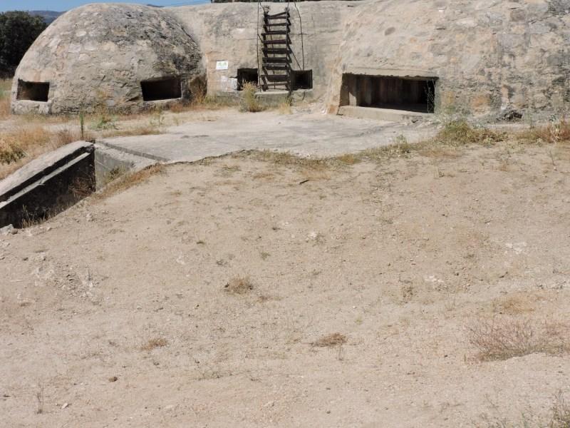 Blockhaus13 - La disposición del Blockhaus 13 permitía defender todo su perímetro.