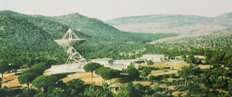Deep Space Network - Red del Espacio Profundo - Madrid - Estación de Cebreros (Ávila), inaugurada en 1966.