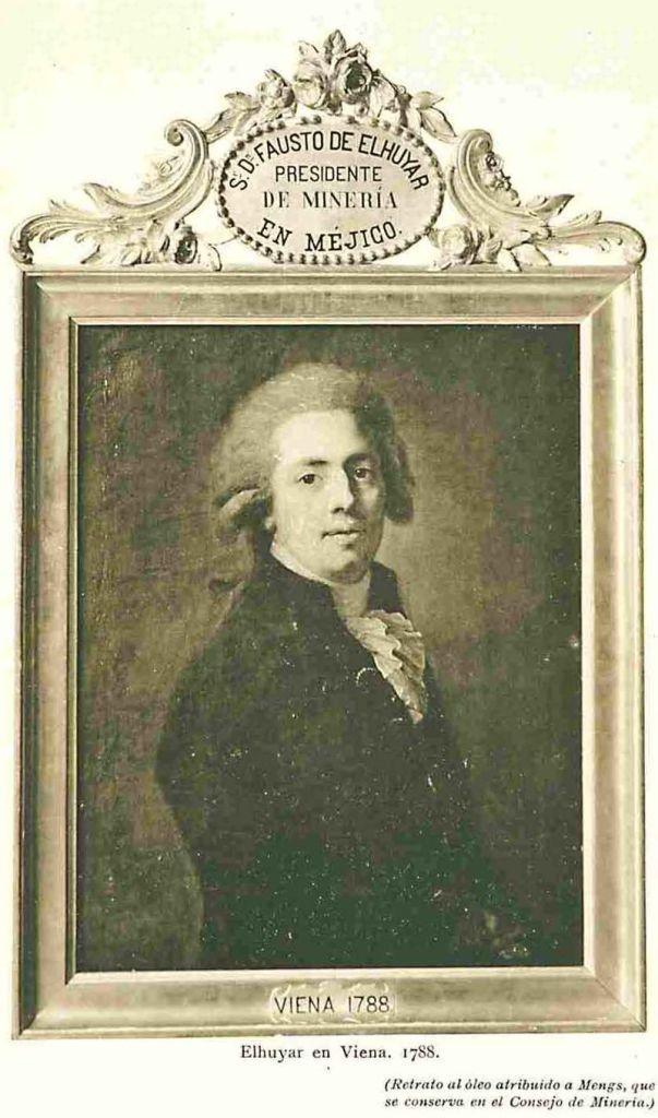 Museo Histórico-Minero - Retrato de Fausto de Elhuyar, director de la Escuela de Minas de 1826 a 1833 (2)