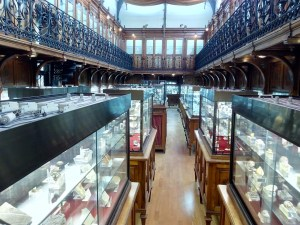 Museo Histórico-Minero - En las salas interiores se encuentran los minerales y fósiles.