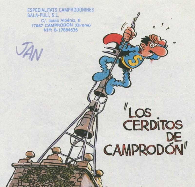 Superlópez en Camprodón - No te olvides de llevarte tu Superlópez, para que te lo sellen.
