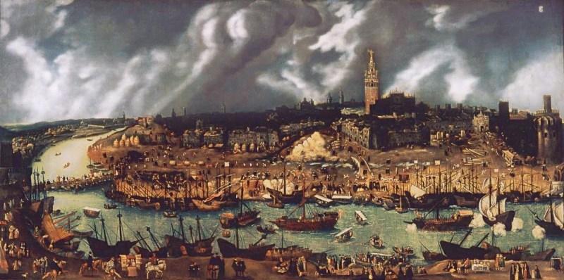El Galeón de Manila - Sevilla en el Siglo XVI, donde llegaban las mercancías de América (19).
