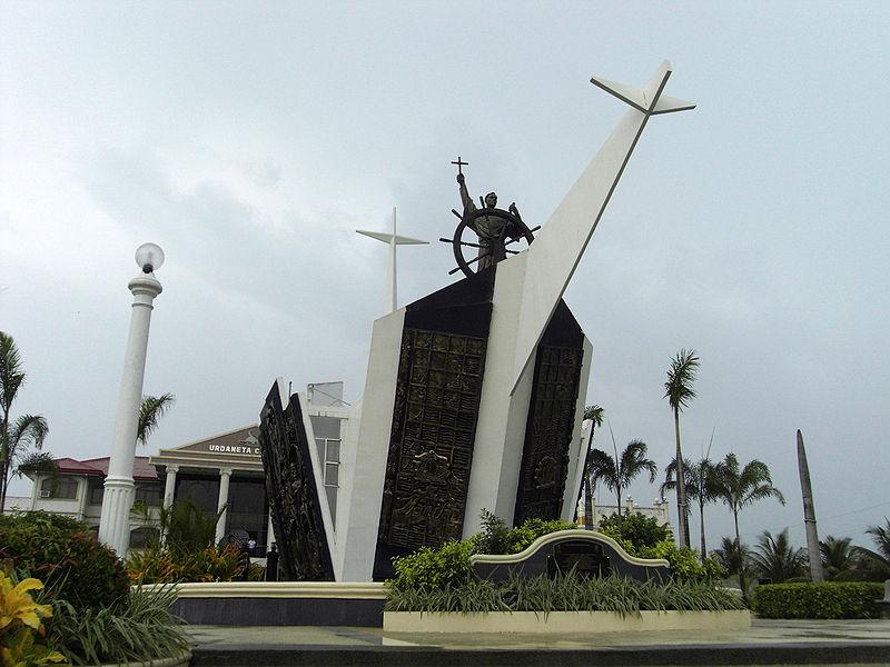 El Galeón de Manila - Monumento conmemorativo a Andrés de Urdaneta en Pangasinan, Filipinas (17).
