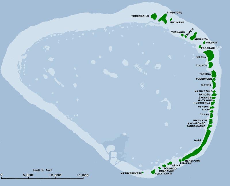El Galeón de Manila - El Atolón Pescadores (Kapingamarangi). Una pena que no las reclamemos (8).
