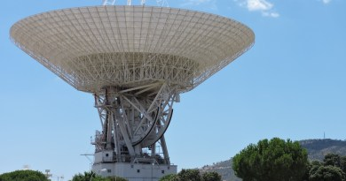 Deep Space Network - Red del Espacio Profundo - Madrid - Antena DSS-63.