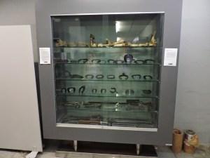 Museo Veterinario Complutense - Vitrina dedicada al herraje.
