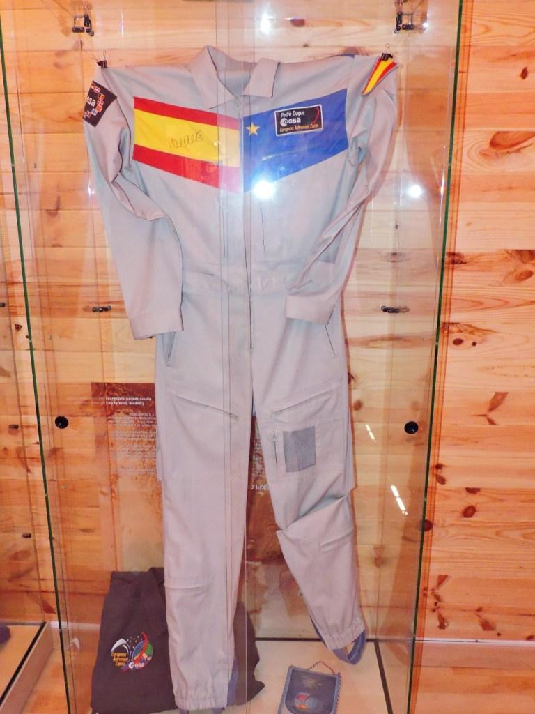 Museo Lunar - Traje espacial de Pedro Duque.