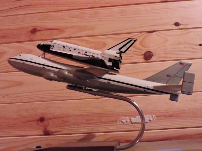 Museo Lunar - Shuttle Carrier Aircraft, encargados de transportar los transbordadores espaciales entre California y Florida.