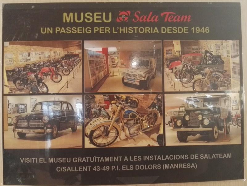Museo Sala Team - Cartel del Museo Sala Team.