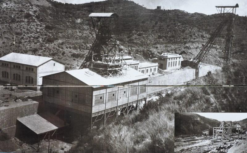 La Montaña de Sal - Pozos Alberto y Maria Teresa en el año 1930.