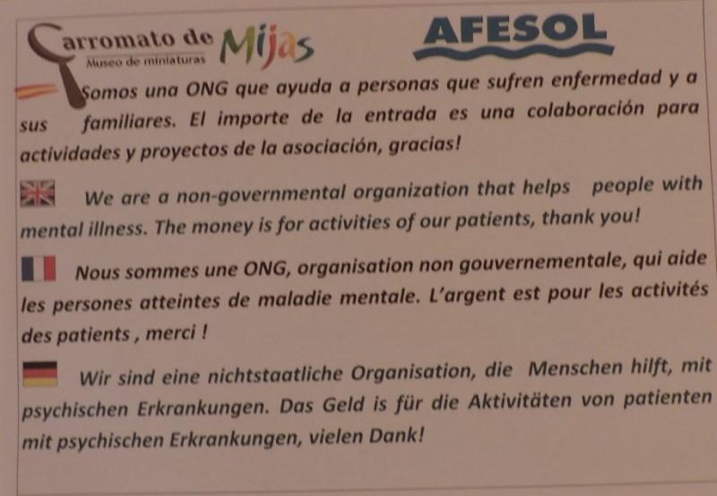 El Carromato de Max - Todos los ingresos del museo van a esta ONG.